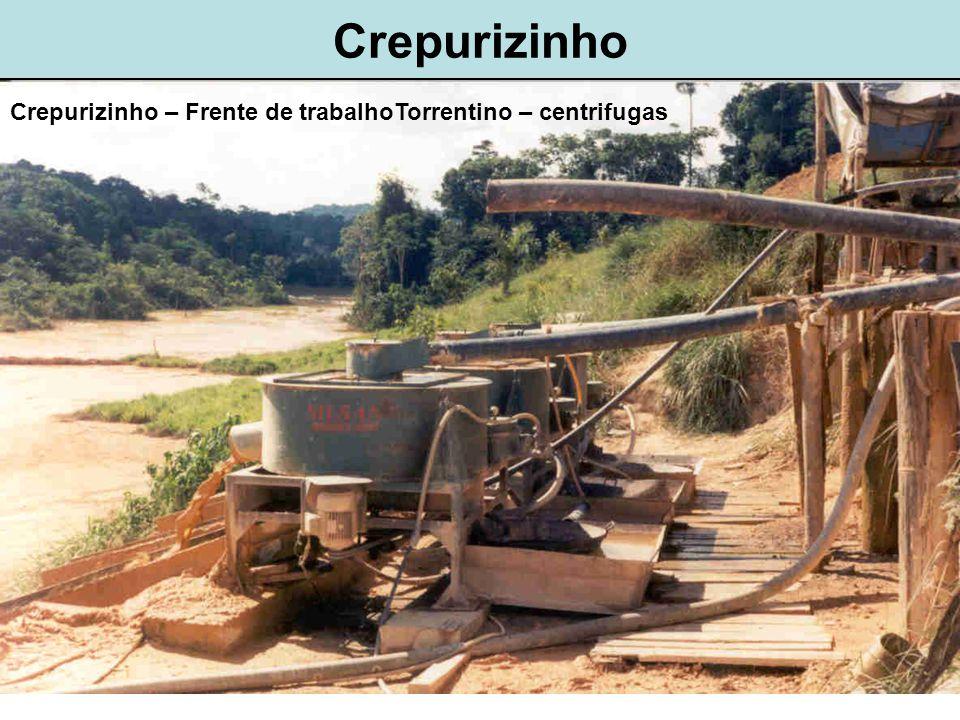 Crepurizinho Crepurizinho – Frente de trabalhoTorrentino – centrifugas
