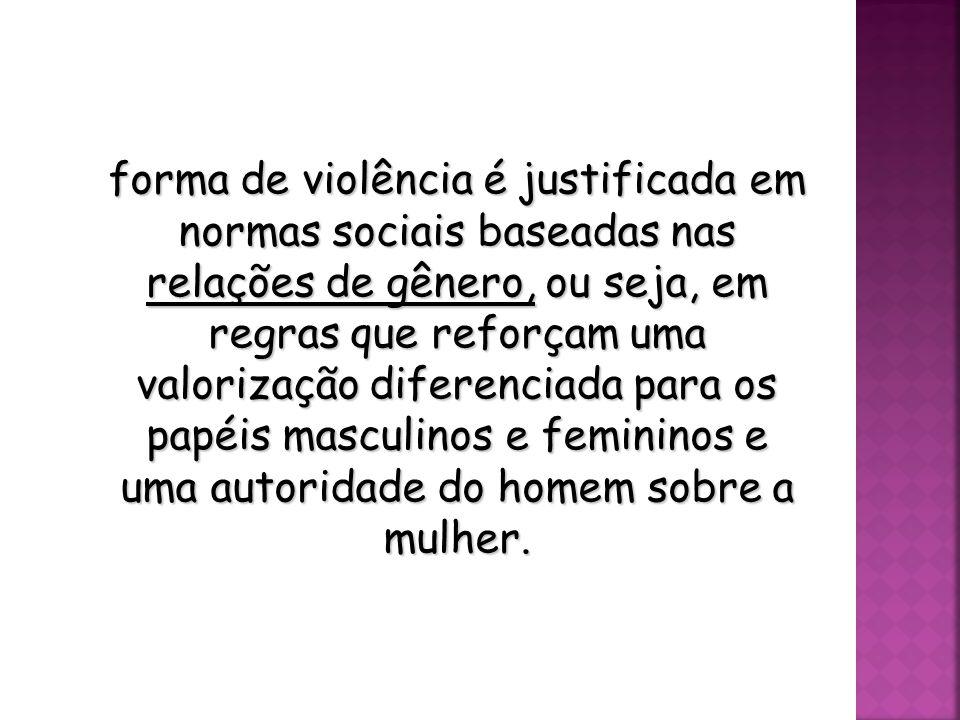 A Conferência das Nações Unidas sobre Direitos Humanos (Viena, 1993) reconheceu formalmente a violência contra as mulheres como uma violação aos direi