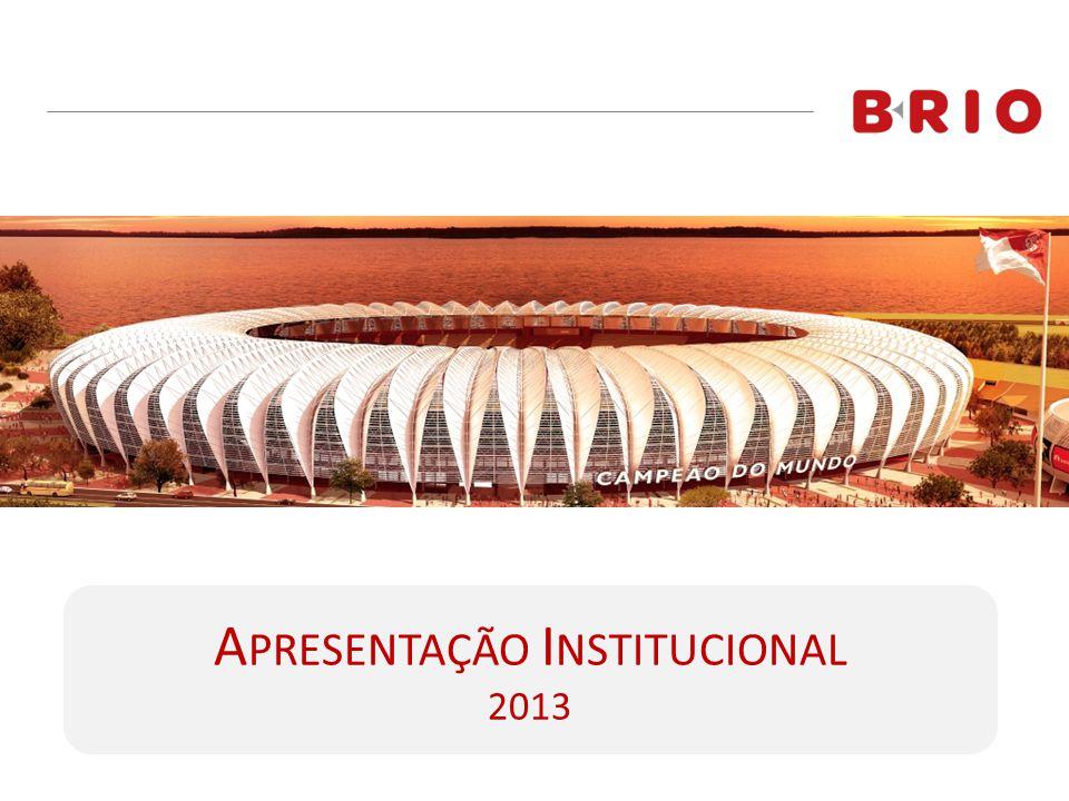 A PRESENTAÇÃO I NSTITUCIONAL 2013