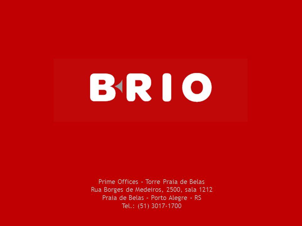 Prime Offices – Torre Praia de Belas Rua Borges de Medeiros, 2500, sala 1212 Praia de Belas – Porto Alegre – RS Tel.: (51) 3017-1700