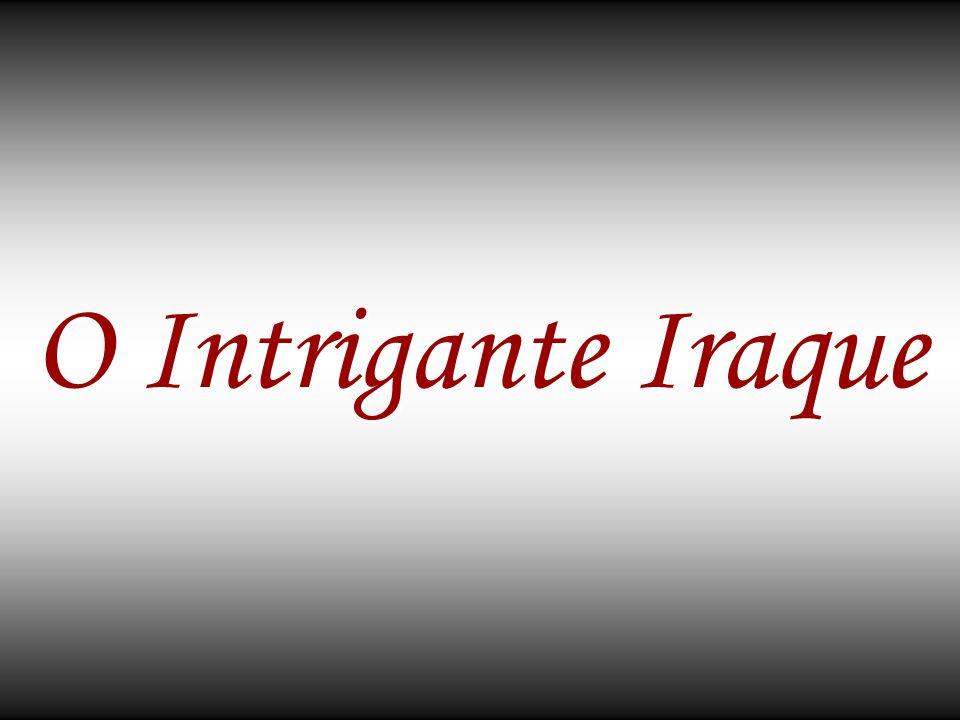 O nome Iraque significa País com Raízes Profundas .