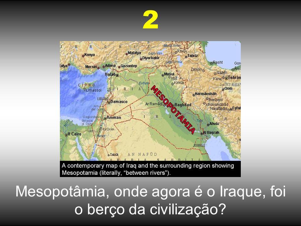 Noé construiu a Arca no Iraque? 3