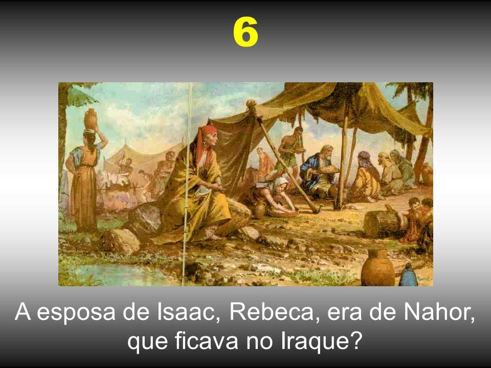 Jacó encontrou-se com Raquel no Iraque? 7