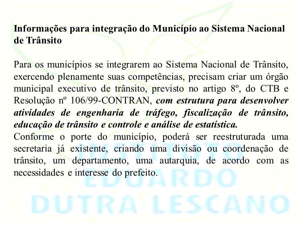 MUNICÍPIOUFÓRGÂO AMAMBAI MS DEPARTAMENTO MUNICIPAL DE TRANSPORTE E TRÂNSITO Por que municipalizar o Sistema Viário? O Código de Trânsito Brasileiro pr