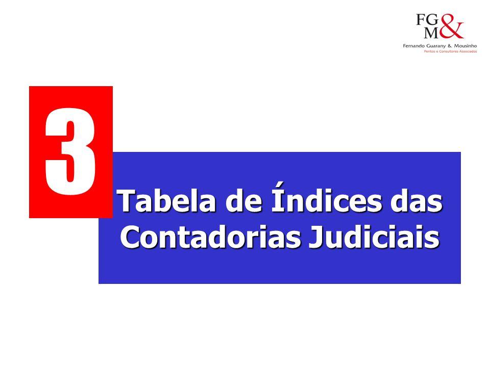 Tabela de Índices das Contadorias Judiciais 3