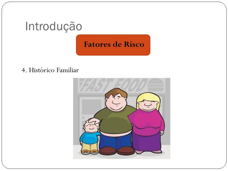 Introdução 4. Histórico Familiar Fatores de Risco