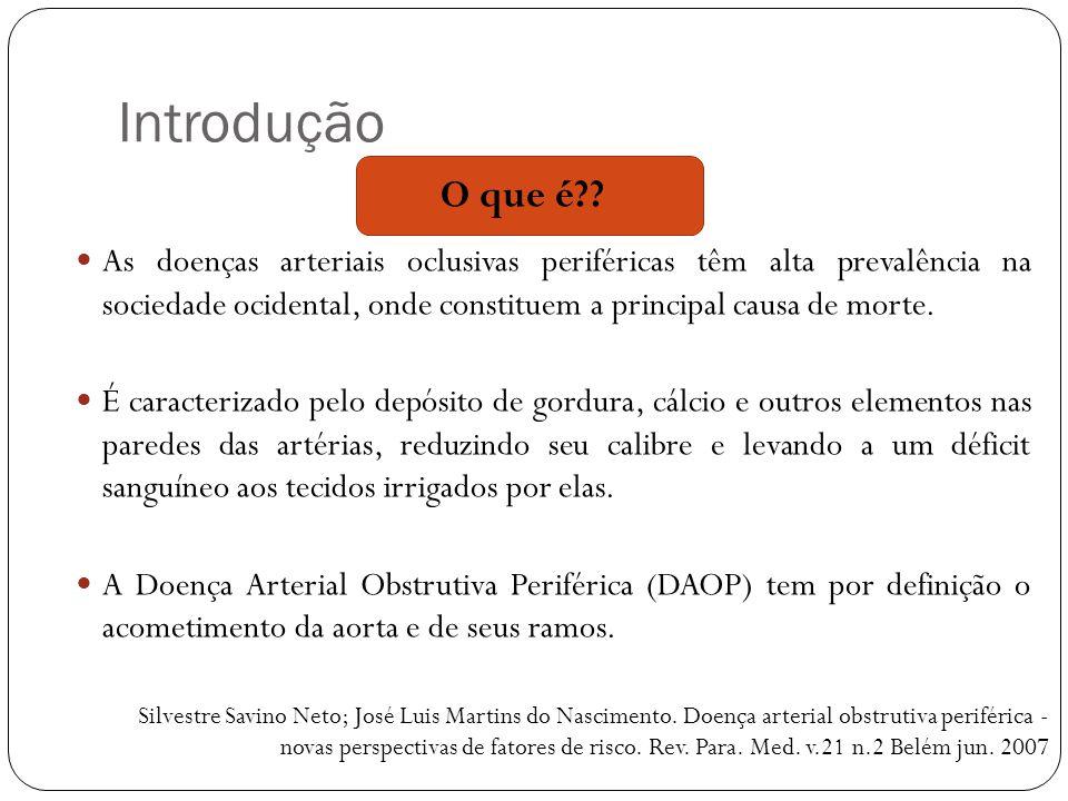 Referências  Pinto, DM; Mandil, A.