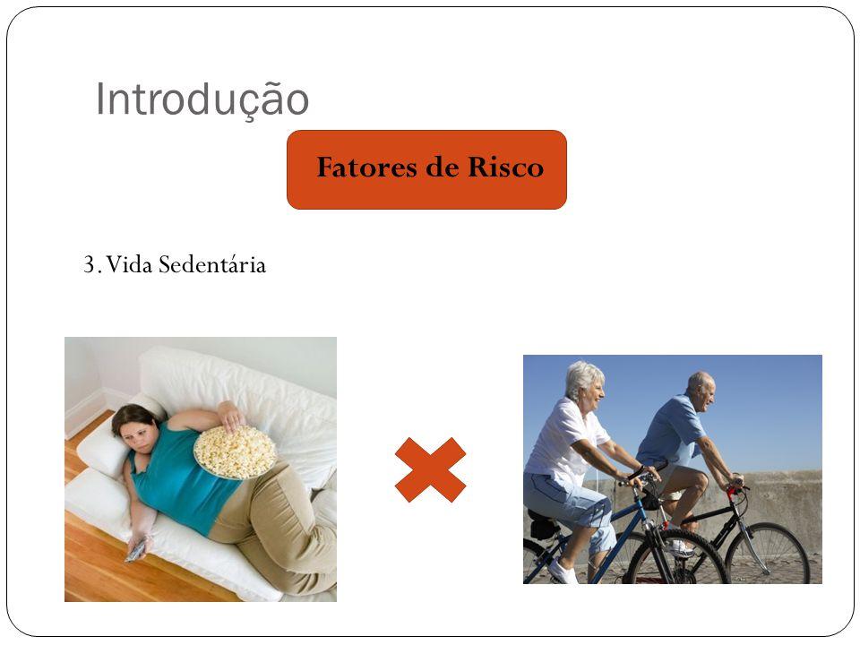 Introdução 3. Vida Sedentária Fatores de Risco