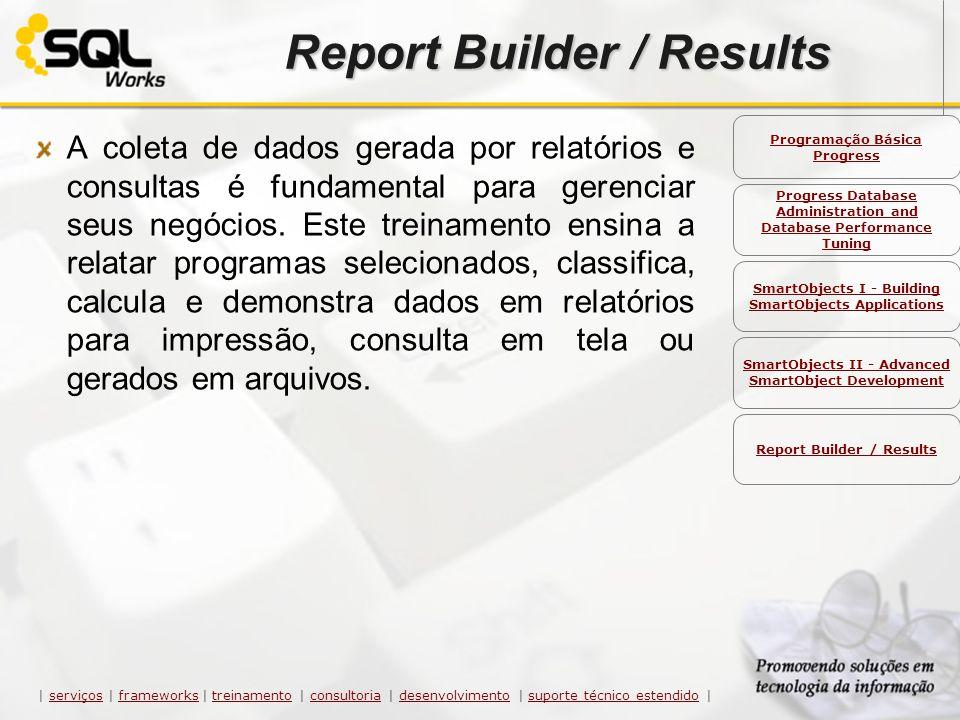A coleta de dados gerada por relatórios e consultas é fundamental para gerenciar seus negócios. Este treinamento ensina a relatar programas selecionad