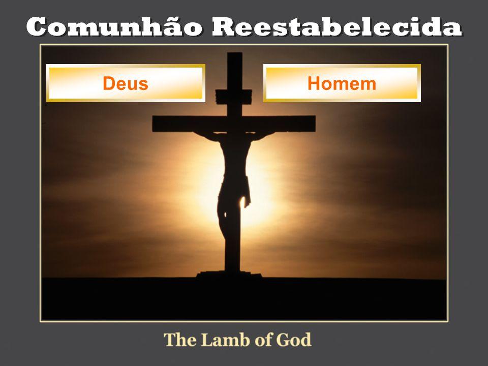 Comunhão Reestabelecida Deus Homem