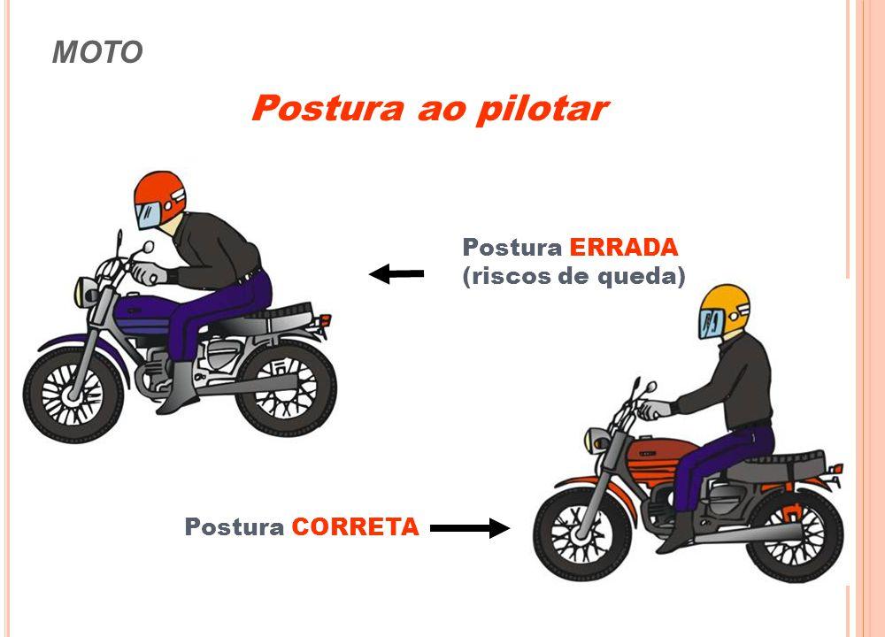 MOTO CAPACETE • Aferir sempre seu capacete (inmetro) • Manter a viseira limpa e transparente • Usar Adesivos refletivos