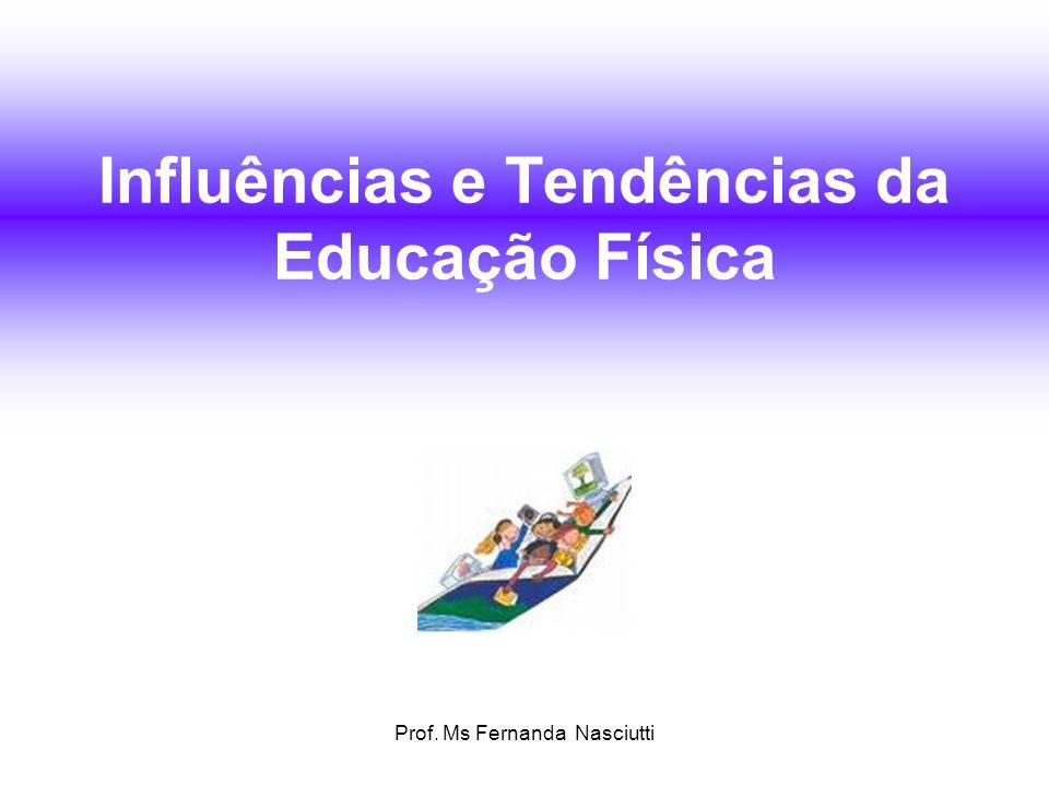 Prof. Ms Fernanda Nasciutti CULTURA CORPORAL