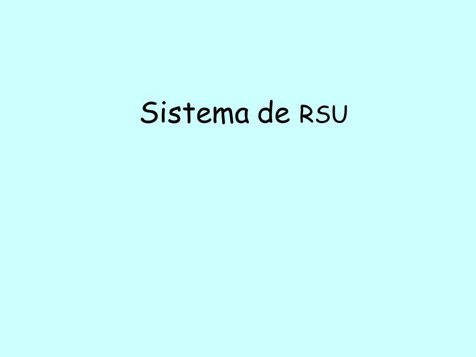 Sistema de RSU