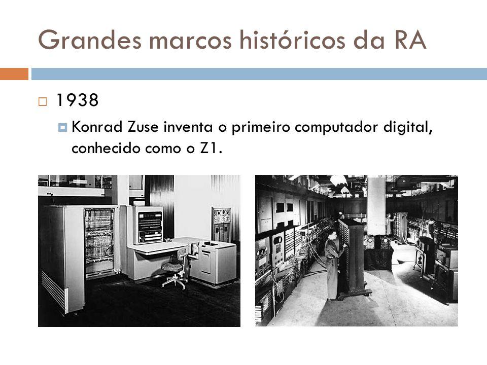  1938  Konrad Zuse inventa o primeiro computador digital, conhecido como o Z1.