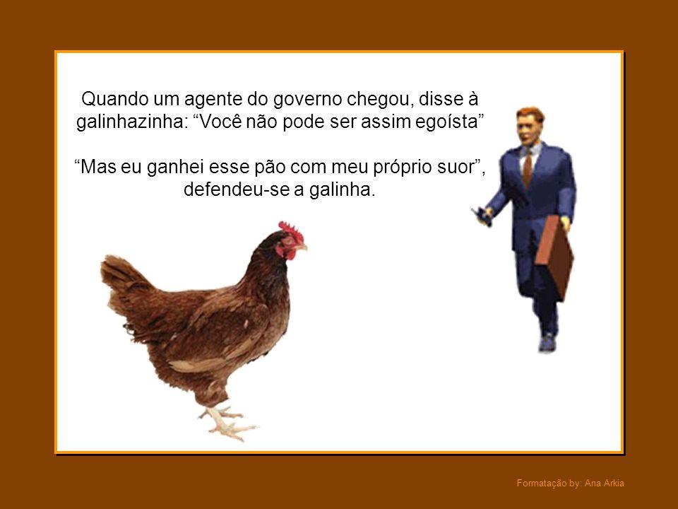 """Formatação by: Ana Arkia Eles pintaram faixas e cartazes dizendo """"Injustiça"""" e marcharam em protesto contra a galinha, gritando obscenidades. INJUSTIÇ"""
