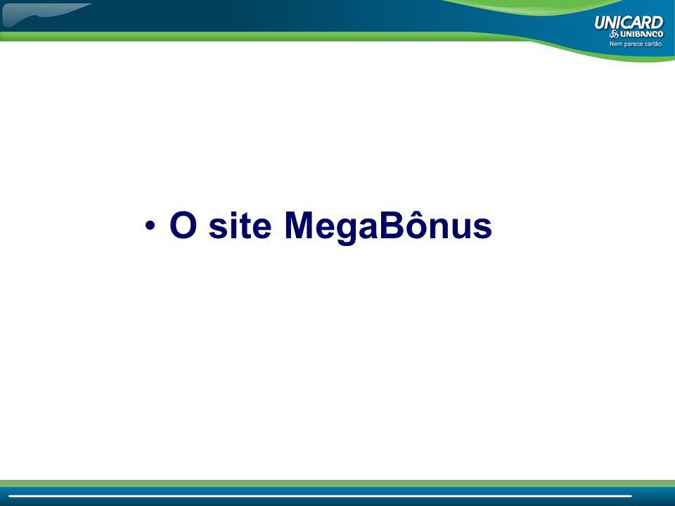 •O site MegaBônus