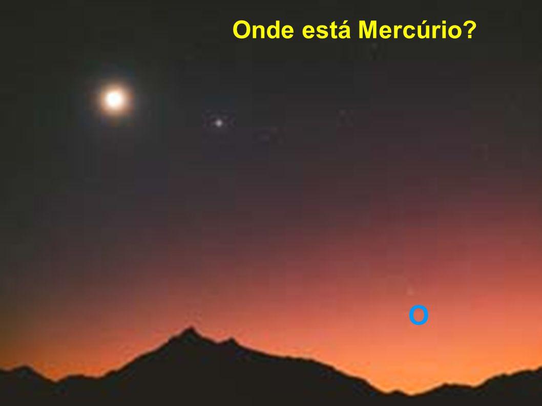 Algumas Propriedades de Mercúrio - planeta mais próximo do Sol (0.39 AU) - menor planeta, exceto Plutão - período orbital (ano em mercúrio): 88 dias - dia solar: 176 dias (terrestres) - dia sideral: 58,6 dias (terrestres) - gravidade: 0.34 da terrestre - temperatura de dia: até 430 graus cent.