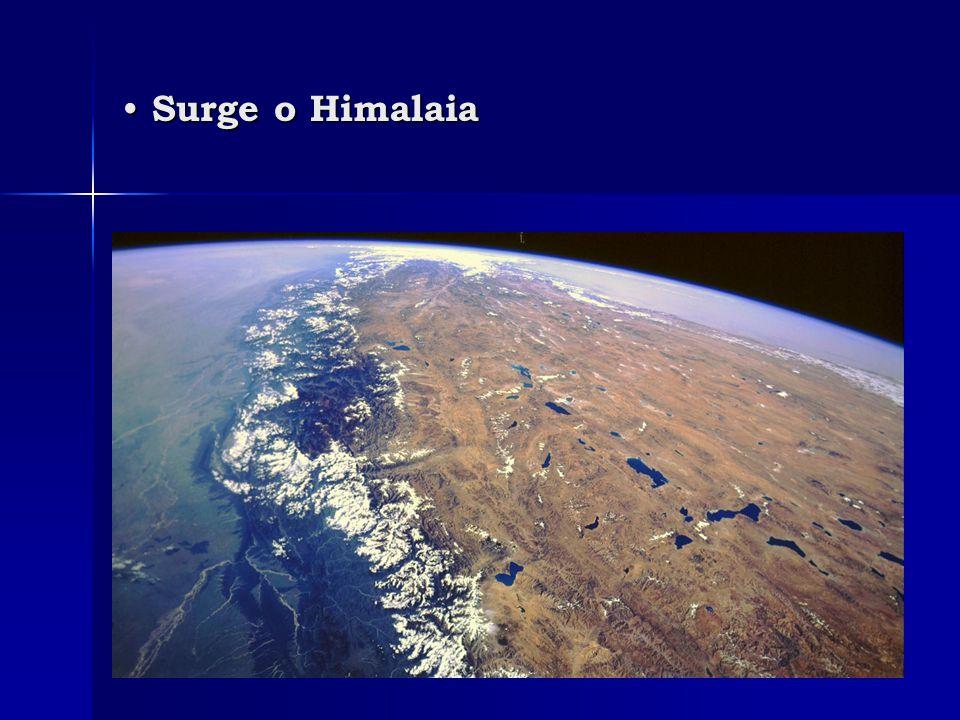 • Surge o Himalaia