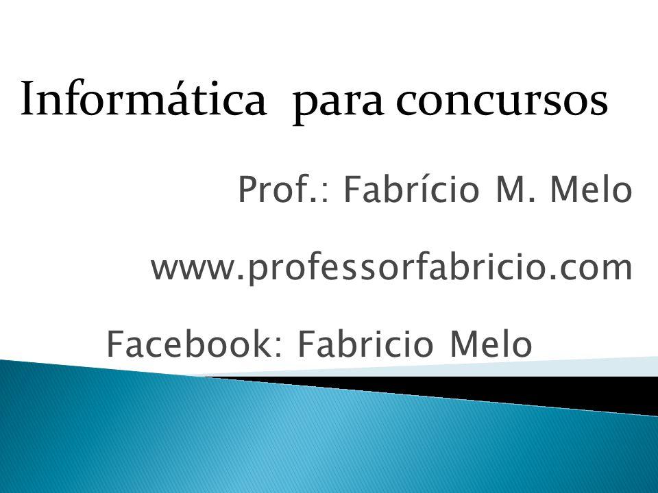 Prof.: Fabrício M.