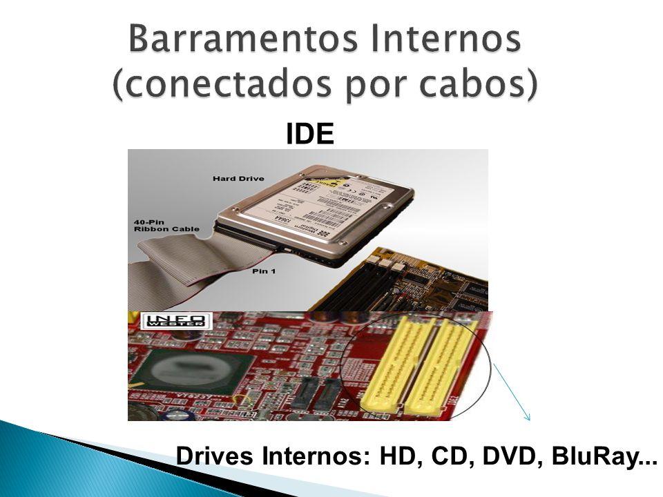 IDE Drives Internos: HD, CD, DVD, BluRay...