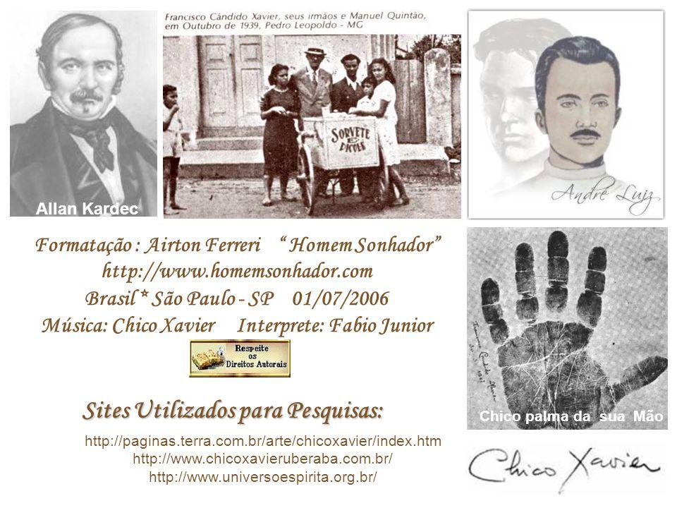 A mensagem acima foi psicografada pelo médium Francisco Cândido Xavier, de trás para diante, no idioma inglês, na sede da União Espírita Mineira, após