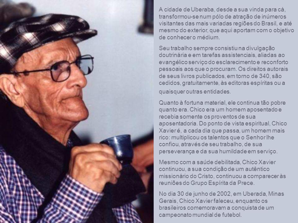 Em maio de 1927 foi realizada a primeira sessão espírita no lar dos Xavier, em Pedro Leopoldo. Em junho do mesmo ano foi cogitada a fundação de um núc