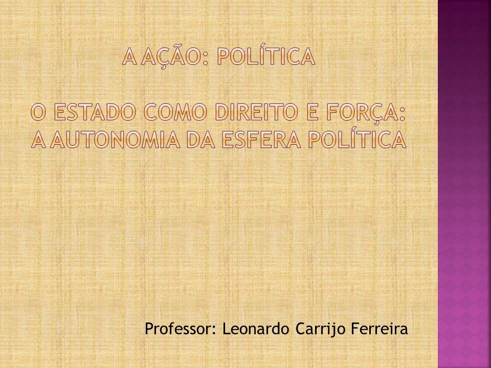 Professor: Leonardo Carrijo Ferreira