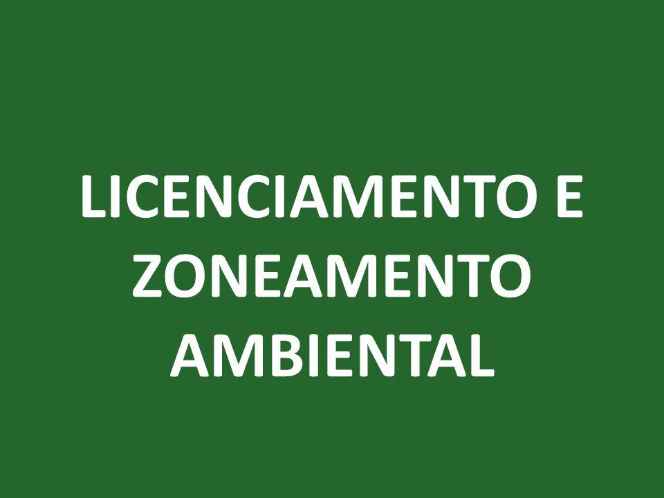 TIPOS DE ZONEAMENTO AMBIENTAL Zoneamento para pesquisas ecológicas •Dentro das Estações Ecológicas até 10% da área é destinada a pesquisas ecológicas.