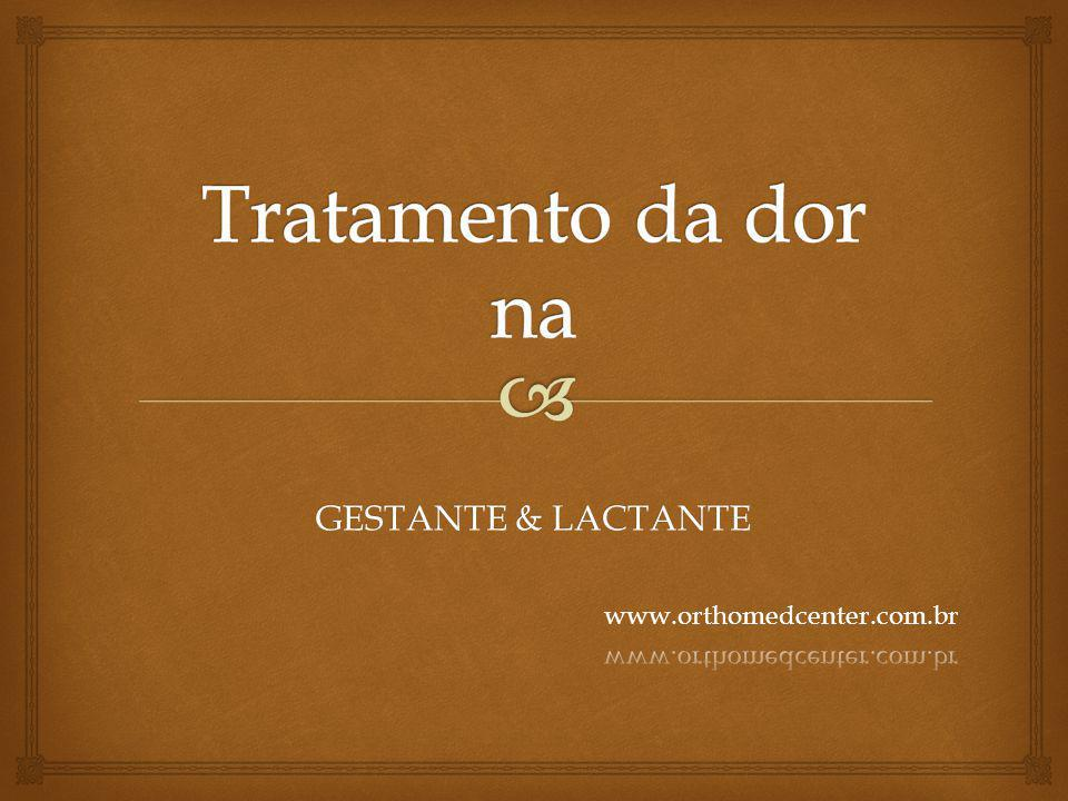 GESTANTE & LACTANTE