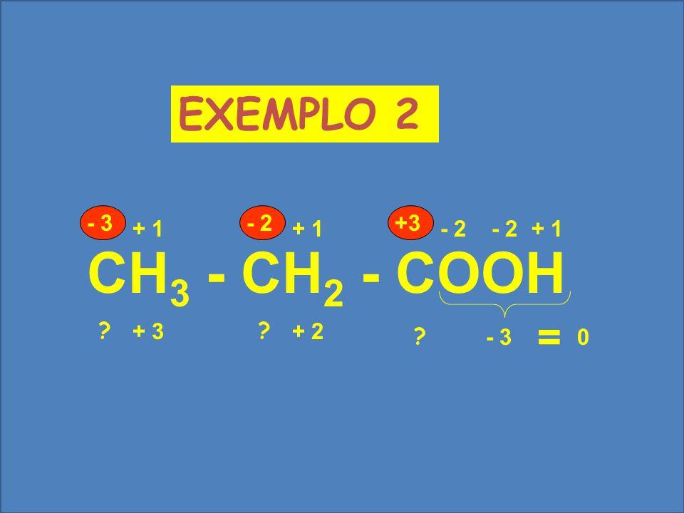 NaNO 3 + 1- 2 X - 6+ 1 ? = 0 + 5 EXEMPLO 1