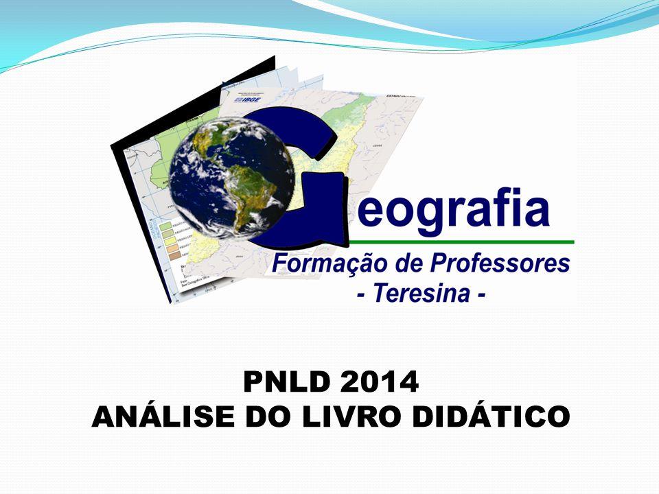 PNLD 2014 ANÁLISE DO LIVRO DIDÁTICO