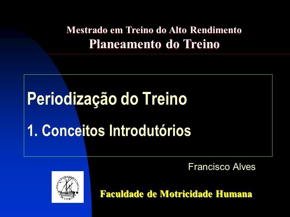 Periodização do Treino 1.