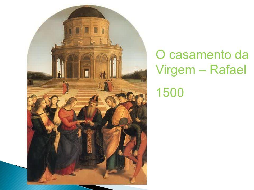 O casamento da Virgem – Rafael 1500