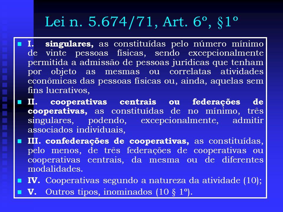 Lei n.5.674/71, Art.