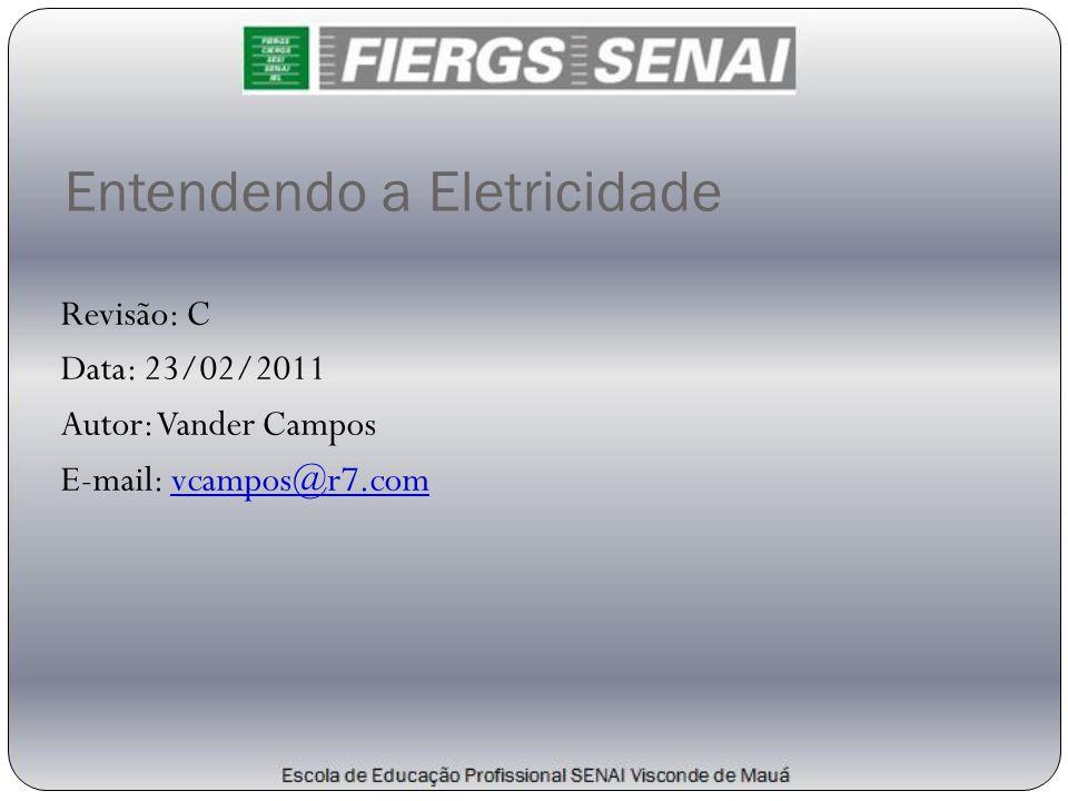 Entendendo a Eletricidade Revisão: C Data: 23/02/2011 Autor: Vander Campos E-mail: vcampos@r7.com