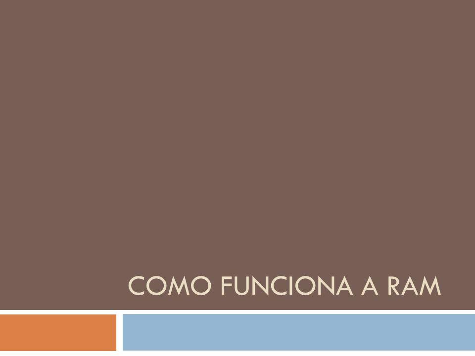 COMO FUNCIONA A RAM