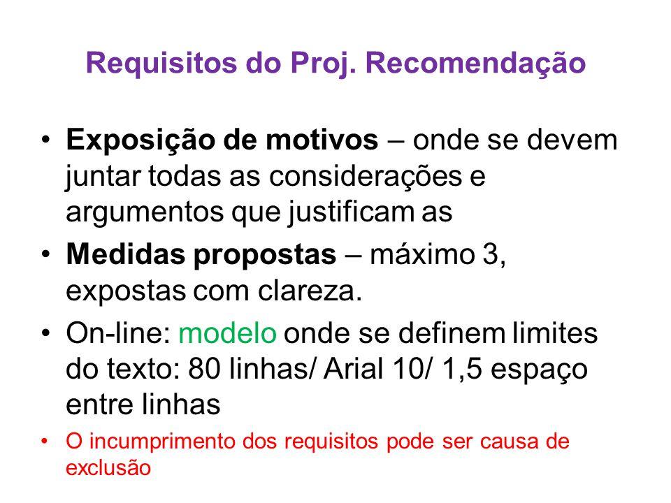 Requisitos do Proj.