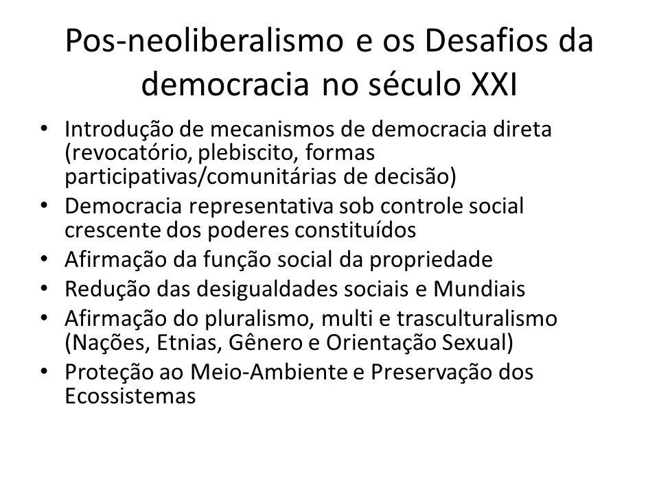 Estado no Brasil • Desenvolvimentista e Nacional-Popular: • Autoritário-modernizante • Redemocratização e Neoliberalismo • Pós-neoliberal