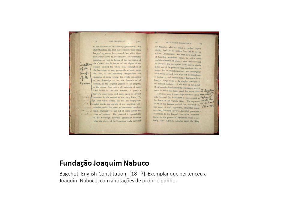 BMA3 ARAUJO, José Paulo de Figueiroa Nabuco de, org.