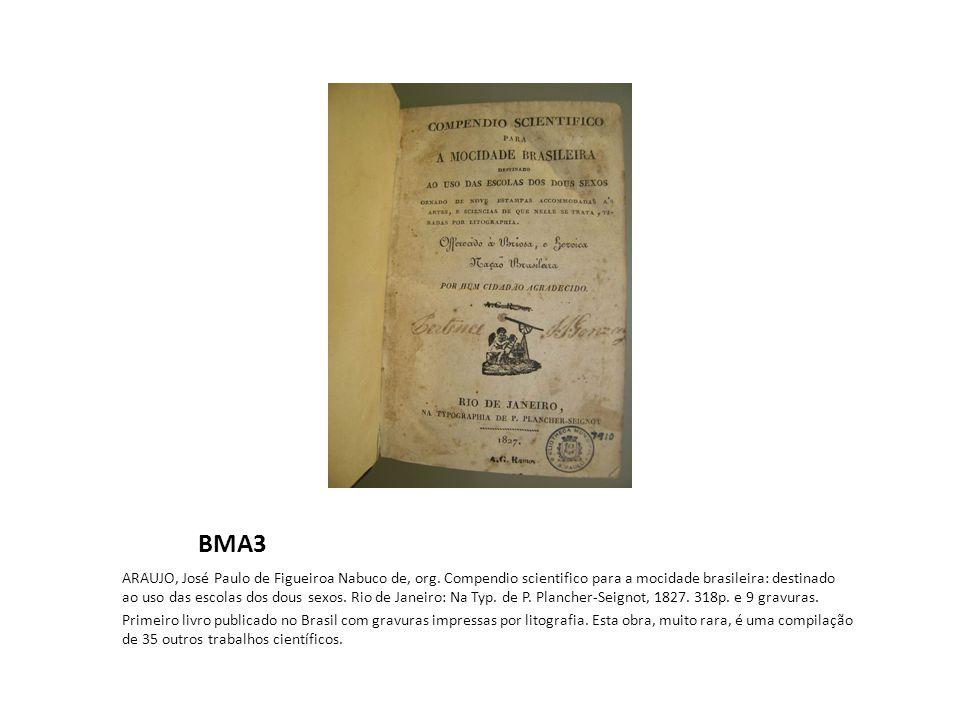 Fundação Joaquim Nabuco O fazendeiro do Brazil..., coligido pelo frei Jose Mariano da Conceição Velloso, v.1, 1798.