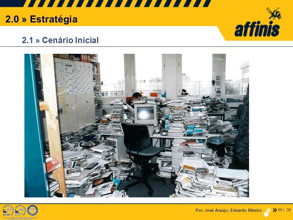 2.1 » Cenário Inicial 2.0 » Estratégia 11 / 31