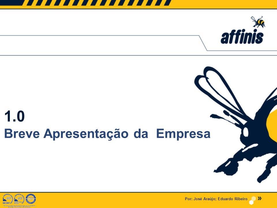 1.0 Breve Apresentação da Empresa Por: José Araújo; Eduardo Ribeiro