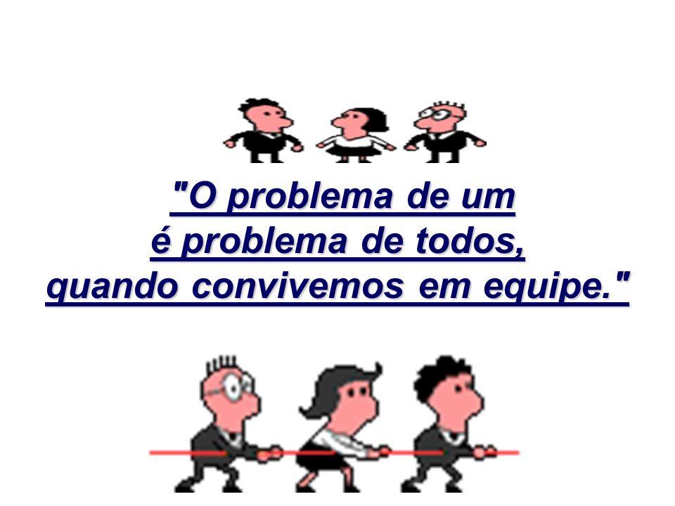 Na próxima vez que você ouvir dizer que alguém está diante de um problema e acreditar que o problema não lhe diz respeito, lembre-se que, quando há um