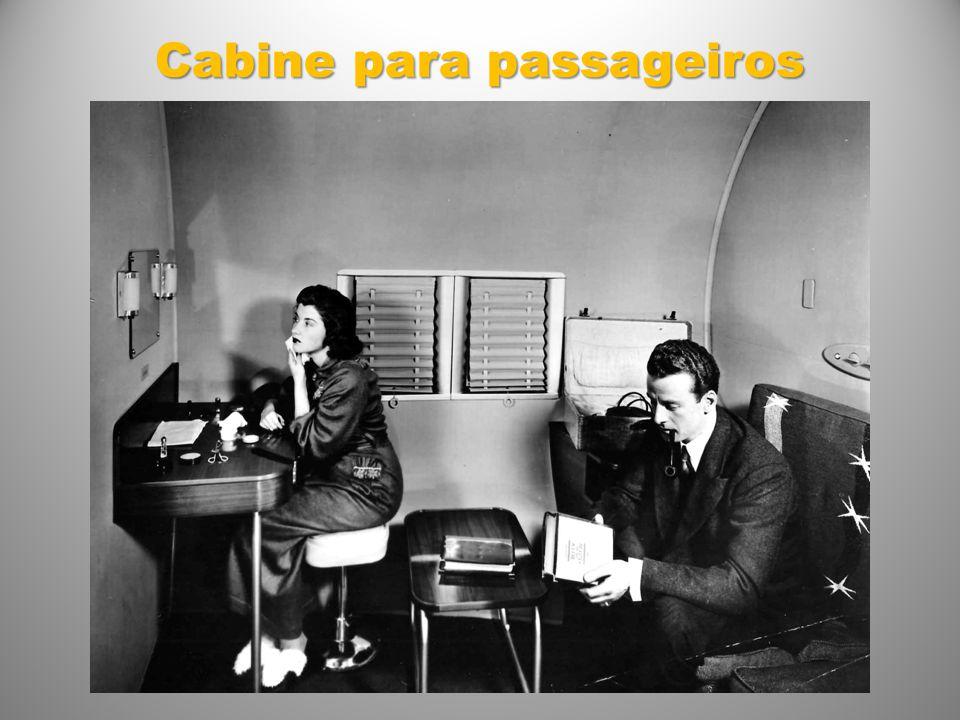 Cabine para passageiros