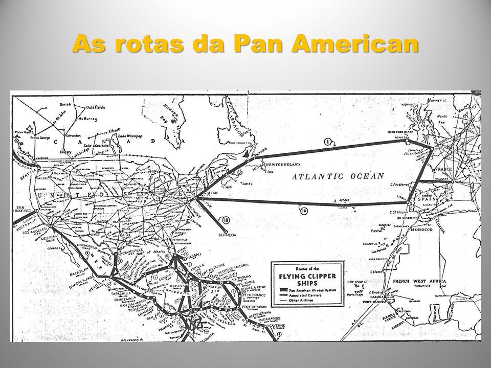 As rotas da Pan American