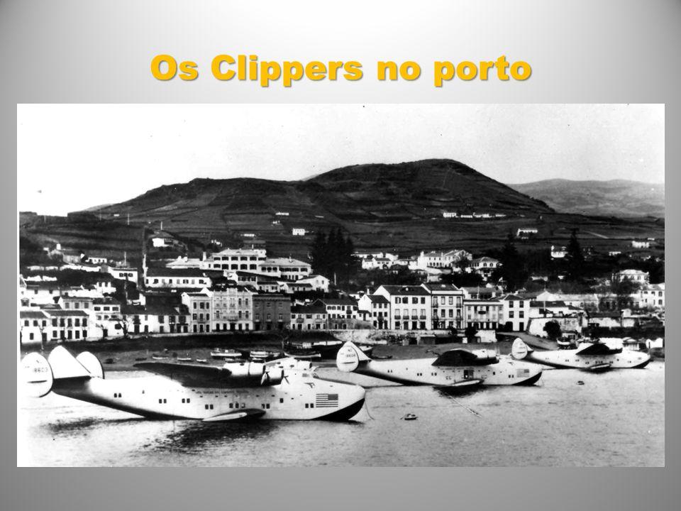 Os Clippers no porto