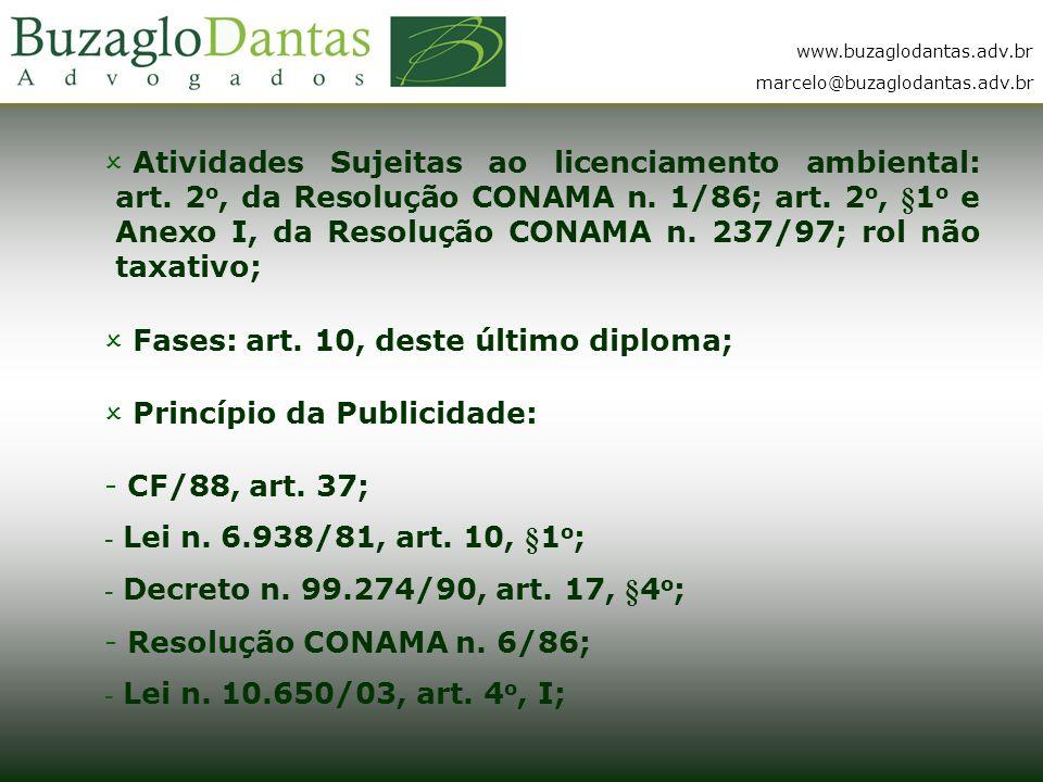www.buzaglodantas.adv.br marcelo@buzaglodantas.adv.br  Atividades Sujeitas ao licenciamento ambiental: art.