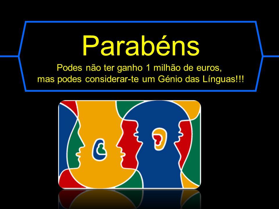 Resposta correta Com mais de 240 milhões de falantes espalhados pelos vários continentes, a Língua Portuguesa é a 6ª mais falada no mundo. É a língua