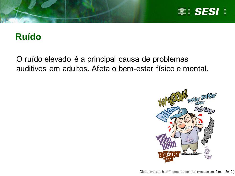  O ruído é um SOM prejudicial à saúde humana que causa sensação desagradável e irritante.