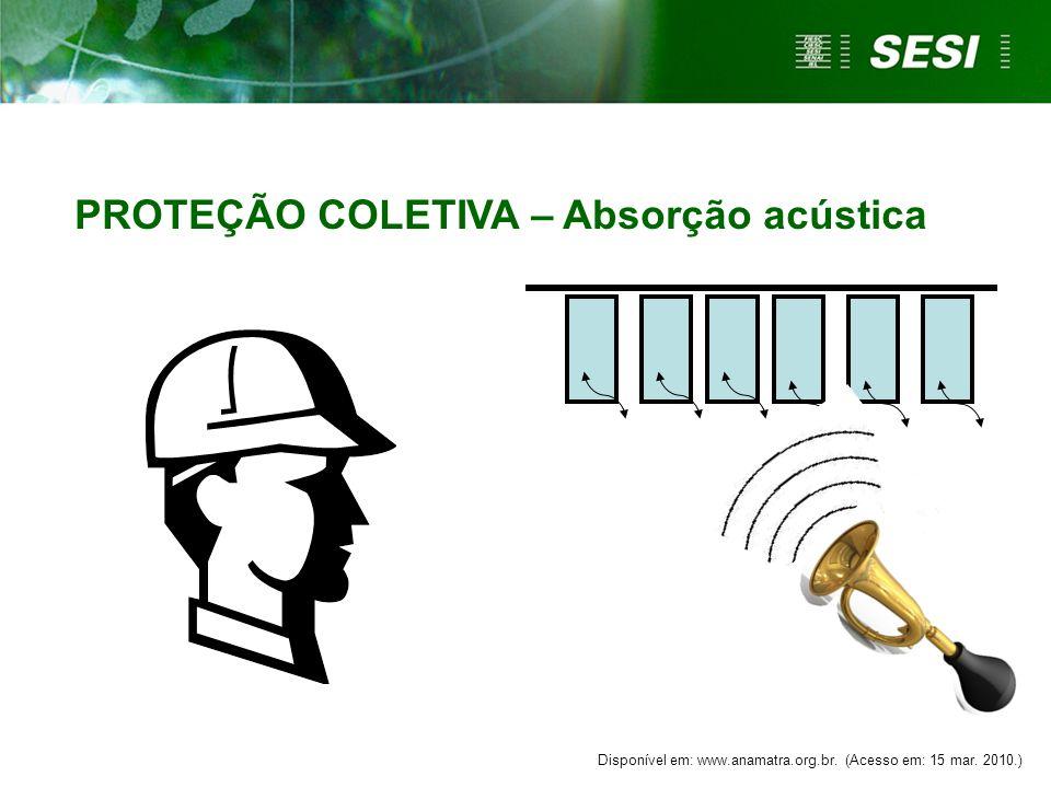 PROTEÇÃO COLETIVA - Enclausuramento Disponível em: www.anamatra.org.br. (Acesso em: 15 mar. 2010.)
